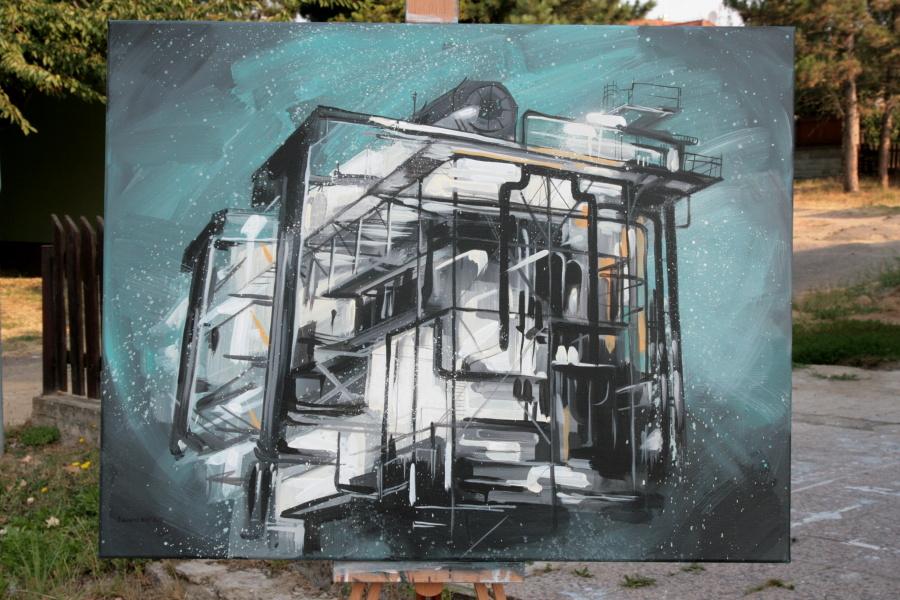 obraz Doris Tesárkové Oplové