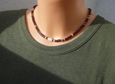 Simira - Pánský dřevěný náhrdelník Mustang - evacernosko bc7e30b6e9b