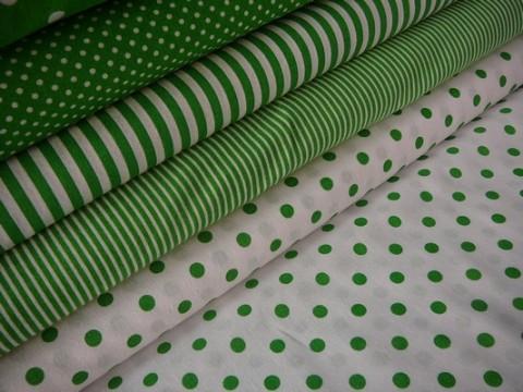 ed5df9a9001d Bavlněná látka zelený puntík bílá tašky peněženky patchwork bavlna polštáře  šití obrázek látka panel metráž