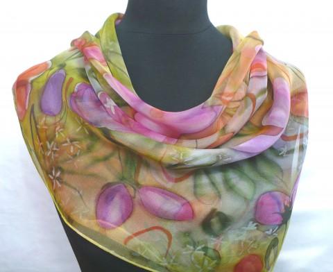001adee976e Simira - Přimavera. Hedvábný šátek. - jena