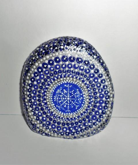 Zima kámen sníh zima modrá bílá těžítko zimní stříbrná kamínek mráz vločka  na stůl s vločkou 58b013a1f4