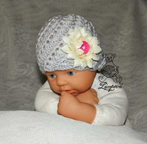 6232f509be4 newborn čepička dárek děti čepice čepička pletené miminko oblečení miminka  knoflík teplá měkká doplňek pro miminko