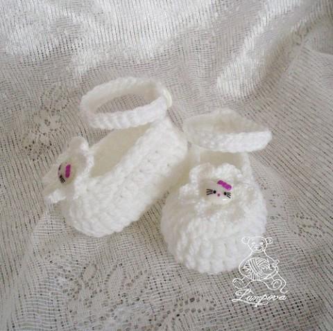 66ff4ea83eb Bačkůrky pro miminko - návod papuče háčkování popis bačkůrky bačkory návody  návod ruční práce