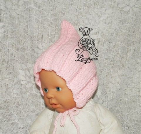 6ed8fc838b5 Čepeček na focení dárek děti čepice čepička pletené miminko oblečení  miminka knoflík teplá měkká doplňek pro