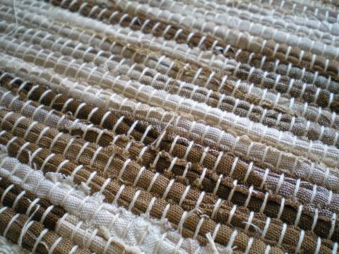 Ručně tkaný kobereček na přání koberec bavlna tkané běhoun eko recy ručně  tkané recy věci 7562c25fb3