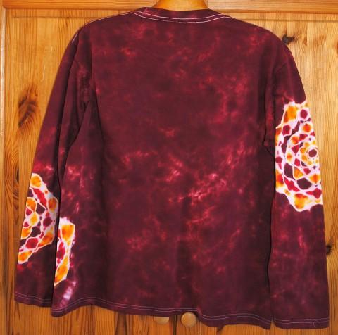 82c2c100dcff Simira - Tričko - Květy v červeném víně - happy sunshine