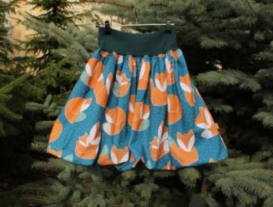 dd713a4524d2 Simira - Balonová sukně Lišky Petrolejové - u vincenta