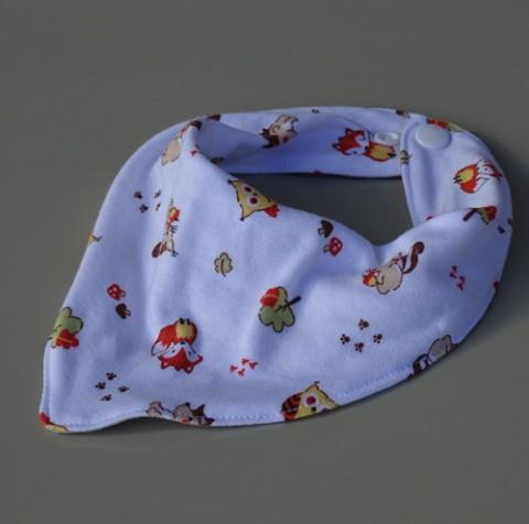 ba6a0c11262 slintáček lesní zvířátka děti dětský obal dítě šátek nákrčník zub bryndák  bryndáček zoubky utěrka