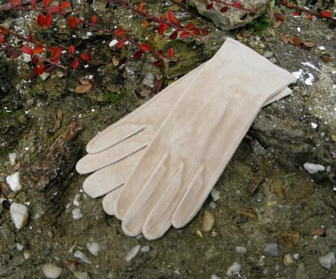 Béžové rukavice bezpodšívkové kožené rukavice dámské celoroční bezpodšívky e1012c66c5