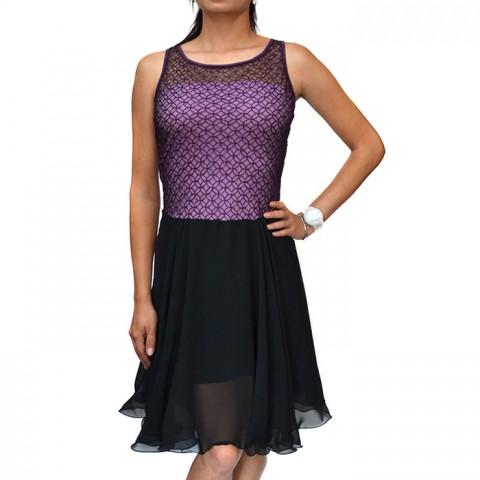 fe5fc3ce022 Společenské šaty s fialovou krajkou tanec kolová fialová sukně šaty svatba  krajka fialové lesk šifon taneční