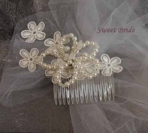 Svatební hřebínek 62 originální doplněk svatba bižuterie svatební hřebínek  do vlasů obřad pro nevěstu pro družičku 175387550a