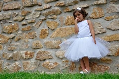 Simira - Tylová sukně bílá f190af5e6a