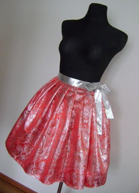 Brokátová zavinovací sukně 02 sukně  zavinovací  společenská  7753a020a7