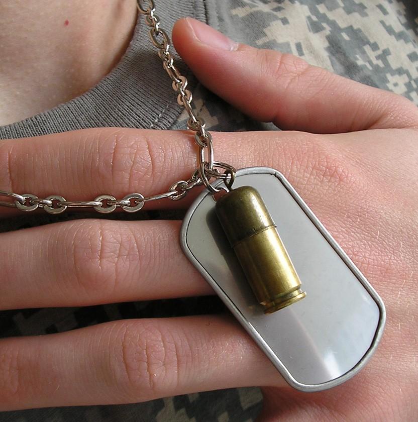 přívěsek Army Fan