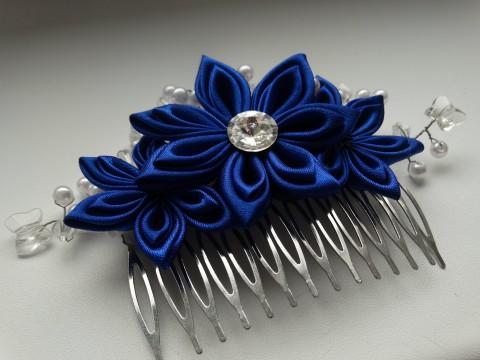 344347dd23f Svatební hřebínek do vlasů -noc vlasy květina svěží květiny květ kytky  svatba ozdoba kytičky kytička