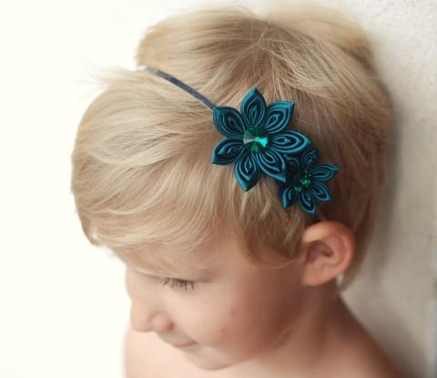 14e4f0980b0 Čelenka do vlasů - smaragdová vlasy květina květy květiny květ svatba  ozdoba čelenka starorůžová svatební ples