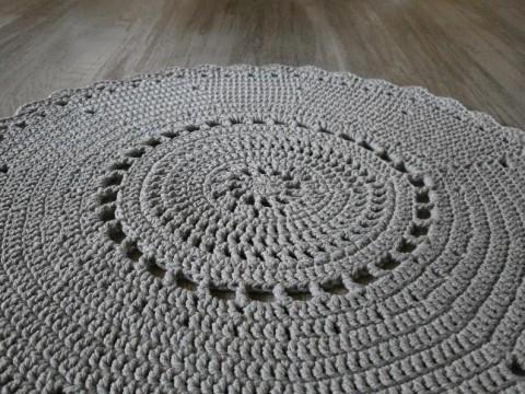Háčkovaný kobereček návod